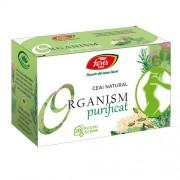 Ceai Organism Purificat 20plicuri Fares
