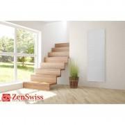 ZenSwiss Deluxe Niedrigenergie-Infrarotheizungen (Leistung/Grösse: 800W / 54 cm x 158 cm, Farbe: Matt Weiss)