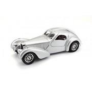 Bburago 1:24 Bugatti Atlantic, Silver