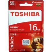 Toshiba Exceria 16 GB MicroSDHC Class 10 48 MB/s Memory Card