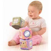 Fisher Price, Little Buttons Soft Activity Blocks, R6795