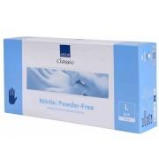 Abena Nitril Blauw Wegwerphandschoenen (Poedervrij) L