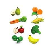 Fructe si legume Set 8 figurine
