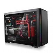 Кутия Thermaltake Versa C23 TG RGB Edition, ATX/mATX/mITX, 2x USB3.0, прозорец, подсветка, черна, без захранване