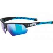 sport ochelari Uvex Stil Sport 224, Negru șah-mat albastru (2416)