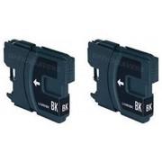 Brother LC-1100BK inktcartridge dubbelpak zwart (huismerk)