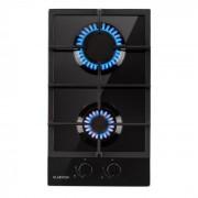 Klarstein Ignito Domino, gázfőzőlap, 2 főzőzóna, Sabaf égőfej, üvegkerámia, fekete (DSM4-Ignito-30)