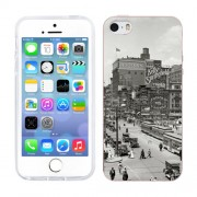Husa iPhone 5S iPhone 5 Silicon Gel Tpu Model Vintage City
