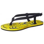 Franco Leone Women's Yellow Fashion Sandals - 4 UK/India (37 EU)