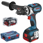 Masina de gaurit si insurubat cu acumulator Bosch GSR 14.4, VE-EC Professional, 14.4 V, 2 acumulatori, Li-Ion, 4 Ah, 1.6 kg, 06019F1001