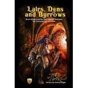 Lairs, Dens and Burrows: Short adventures for Four Against Darkness, for Characters of Any Level, Paperback/Andrea Sfiligoi