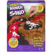 Комплект с магически пясък за моделиране - Разкопки на динозаври, Kinetic Sand, 025521