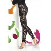 Polly női legging feketés-arany