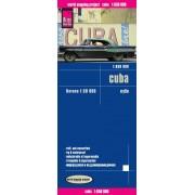 Wegenkaart - landkaart Cuba - Kuba | Reise Know-How Verlag