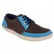 Running rider Brown Clothe Men's Casual Shoes