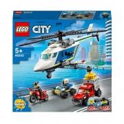 Lego City Police (60243). Inseguimento sull'elicottero della polizia