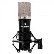 Auna CM003 Micrófono de condensador XLR araña (HKMIC-CM 003)