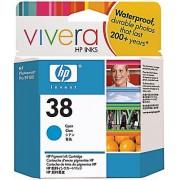 Toneri za InkJet i Plotere No.38 Cyan Pigment Ink Cartridge Vivera za photosmart pro b9180 C9415A HP