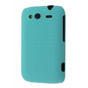 Micro Mesh Case for HTC Wildfire S - HTC Hard Case (Bondi Blue)