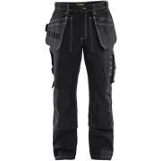 Blaklader Blåkläder - 15301370 Ambacht Werkbroek met kniestukken (Twill) - Zwart - Size: NL:52 BE:46