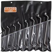 BAHCO Ringnycklar dubbelvinklade set