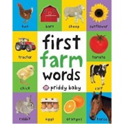 First Farm Words, Hardcover/Roger Priddy