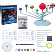 Rose International SolarPlanetarium Educational DIY Glow in The Dark Solar System Planetarium Model Kids Science Kit(Multicolour)