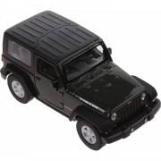 Welly schaalmodel Jeep Wrangler Rubicon 1:34 groen 11 cm