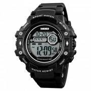 Reloj deportivo digital para hombre SKMEI 1325 50m impermeable - negro