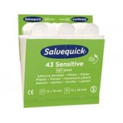 Cederroth Plåsterrefill Salvequick 6943 Sensitive 6x43st/fp