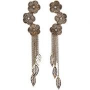 Envy Jewellery Gold Plated Metal Dangle Earring