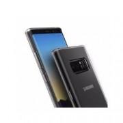 Pachet pentru Samsung Galaxy Note 8 Husa IMPORTGSM Silicon Ultra Slim Transparent + Folie Sticla securizata Transparenta