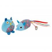 Set 2 jucarii cu iarba matei pentru pisica, Mon Petit Ami