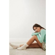 Urban Outfitters UO Cosy Fleece Socks- taille: ALL