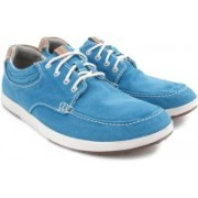Clarks Norwin Vibe Aqua Sneakers For Men(Blue)