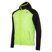 Jacheta barbateasca 4F pentru alergare, material impermeabil