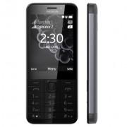 """GSM, NOKIA 230, 2.8"""", Dual SIM, Dark Silver"""