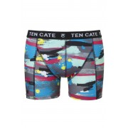 Ten Cate Men Printed Shorts 3224 Paint Antra