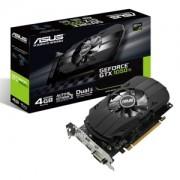 Placa video ASUS GeForce GTX 1050 Ti 4GB Phoenix, 1290 (1392) MHz, 4GB GDDR5, 128-bit, DVI-D, HDMI, DP, PH-GTX1050TI-4G