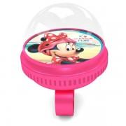 Disney Mimmi Pigg - Cykelringklocka - Rosa 6 cm