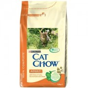 Cat Chow Adult Pui si Curcan 1.5 Kg