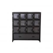 Cómoda / mueble cajonero industrial metal FACTORY XL - Miliboo