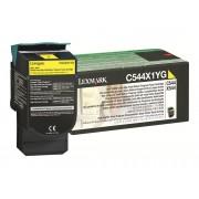 Lexmark Tóner LEXMARK rendimiento extra alto C544, X544 Amarillo