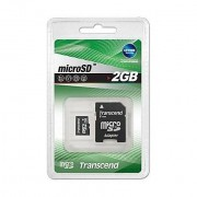 Transcend Memory Card 2gb Micro Sd Card Only