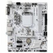 Дънна платка MSI H310M GAMING ARCTIC, Micro-ATX, Socket LGA 1151, Intel H310 Chipset, MSI H310M GAMING ARCTIC