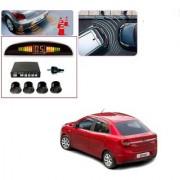 Auto Addict Car Black Reverse Parking Sensor With LED Display For Ford Figo::Aspire