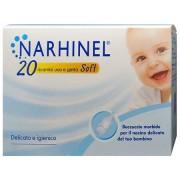 Narhi Ricarica Usa E Getta Per Aspiratore Nasale Narhinel 20 Pezziusa E Getta Soft