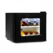 Klarstein WINEHOUSE MINIBAR, 17 litri, 60 W, clasa A +, 38 DB, ușă din sticlă, culoare argintie (HEA6-Winehouse-B)