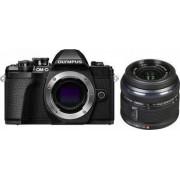 Aparat foto Mirrorless Olympus E-M10 Mark III 16.1 MP Negru + Obectiv Foto Olympus EZ-M1442 IIR Negru