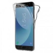 Husa protectie pentru Samsung Galaxy J3 2017 Transparent Slim folie de protectie fata-spate